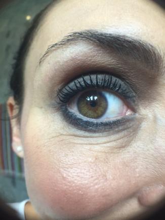 Mi Smokey Eyes hecho por Eduardo