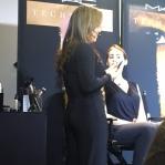 Rosa, la make up artist que realizó el trabajo