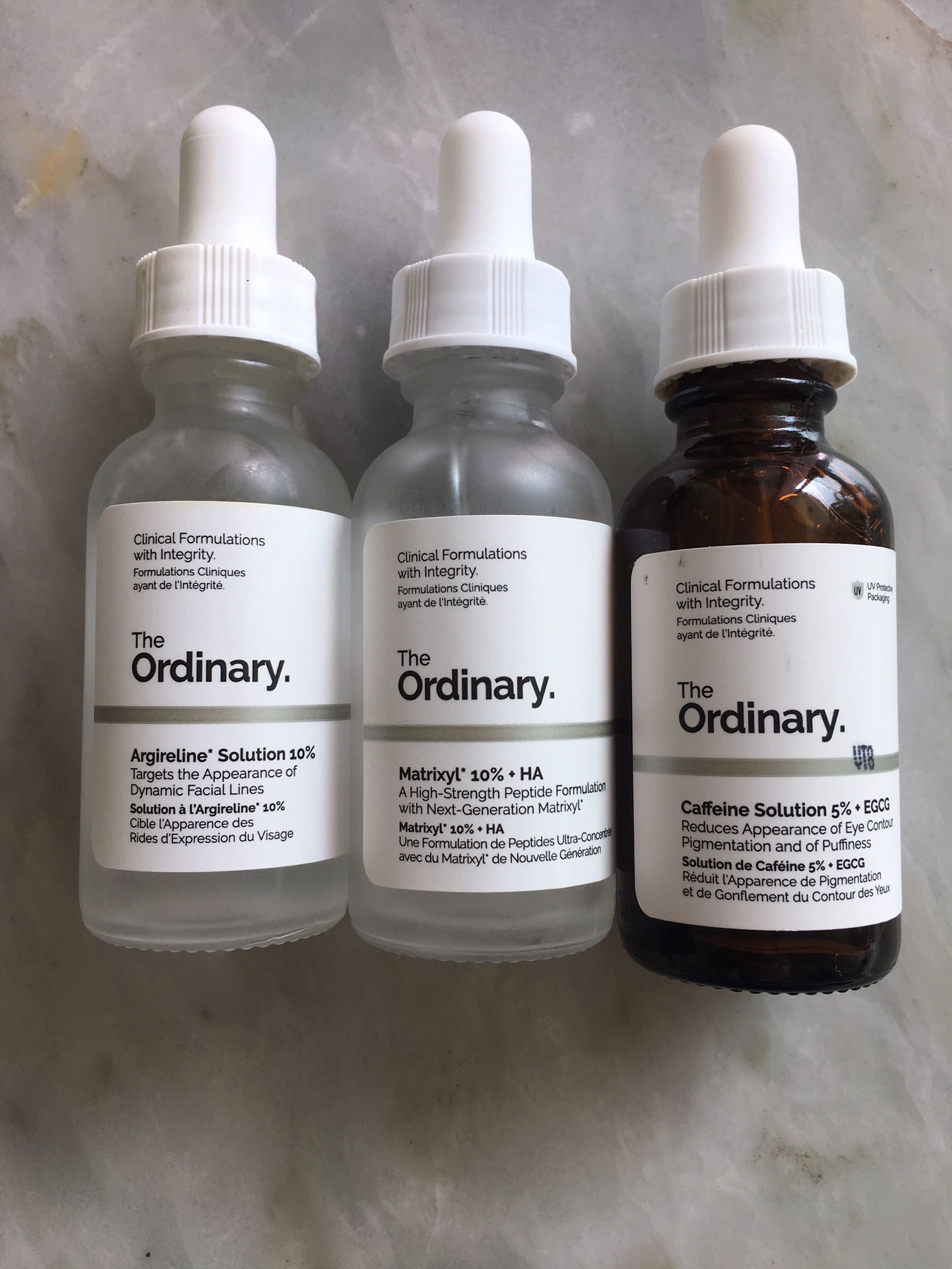 Review The Ordinary Up To Me Make Up